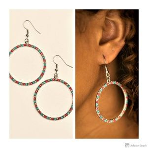 Spring Party- Multi Hoop Earrings